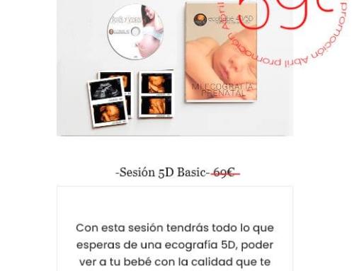 promocion ecografia 5d basic